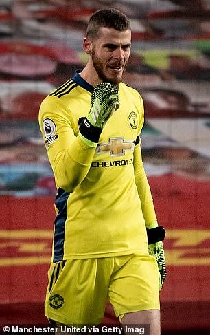 David de Gea vuelve a la plantilla del United tras tomarse la baja por paternidad en España