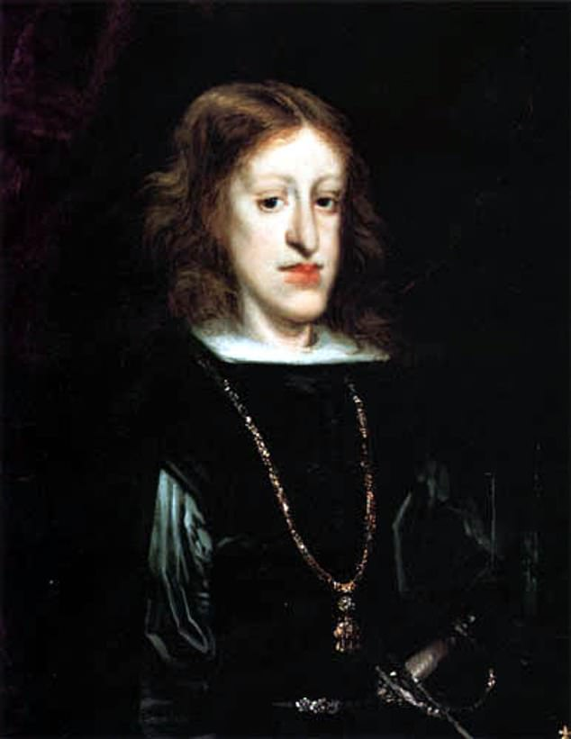 Sebastian Ottinger and Nico Voigtländer, of UCLA, suggest there is a correlation between how inbred a ruler was and how effectively he or she ruled.Among the clearest examples is Charles II, or Carlos II, of Spain, pictured, whose reign spelled ruin for Spain