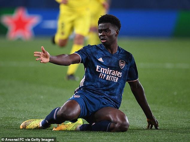 Bukayo Saka asegura que el Arsenal demostró que es un equipo 'mejor' que el Villarreal a pesar de perder