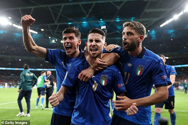 Italy produced heroics in a penalty shootout to edge out Spain at Wembley in the semi-finals
