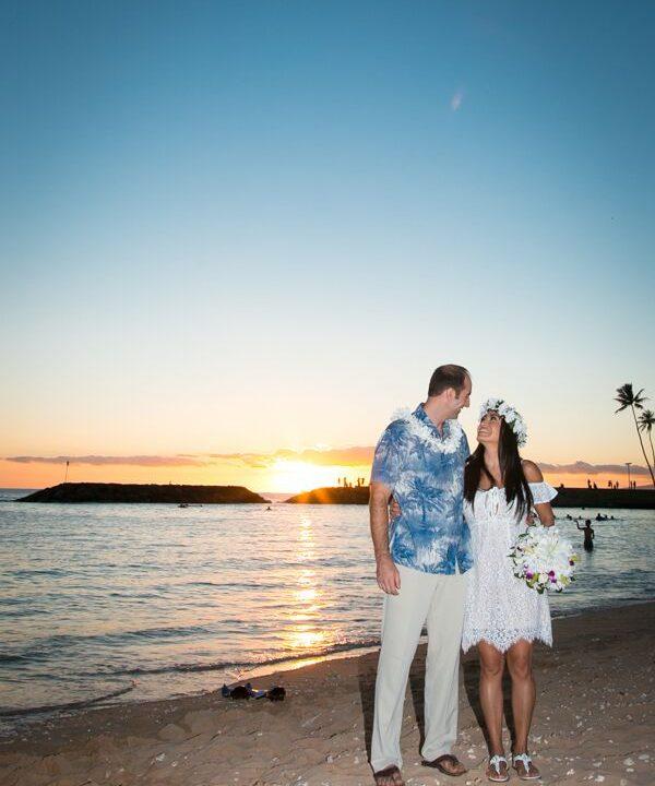 Magic Island Wedding