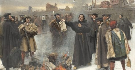 Luther on the Verge: Burning the Papal Bull | 1517
