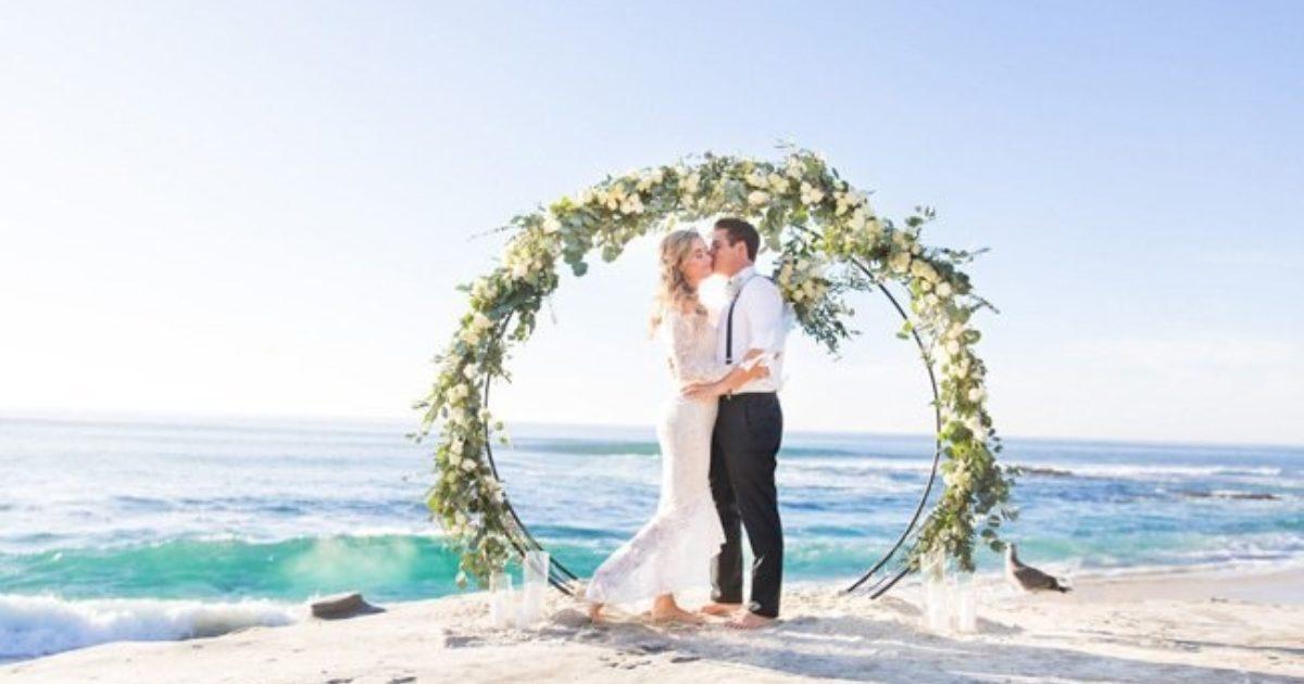 Beach Wedding Arch Ideas Unique Beach Wedding Ceremony Arches