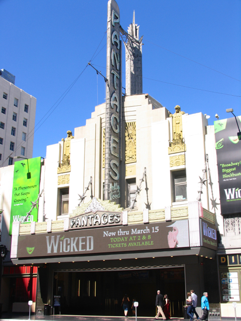 Hollywood and Vine tour