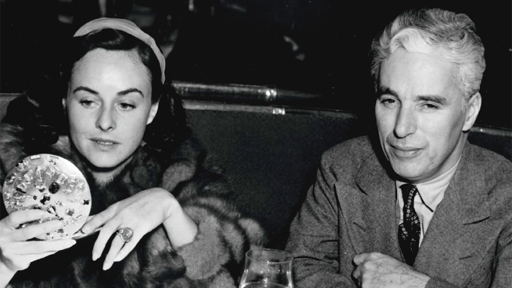 Chaplin at Musso and Frank Grill