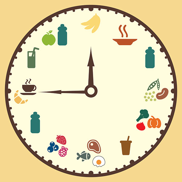 Eating Clock