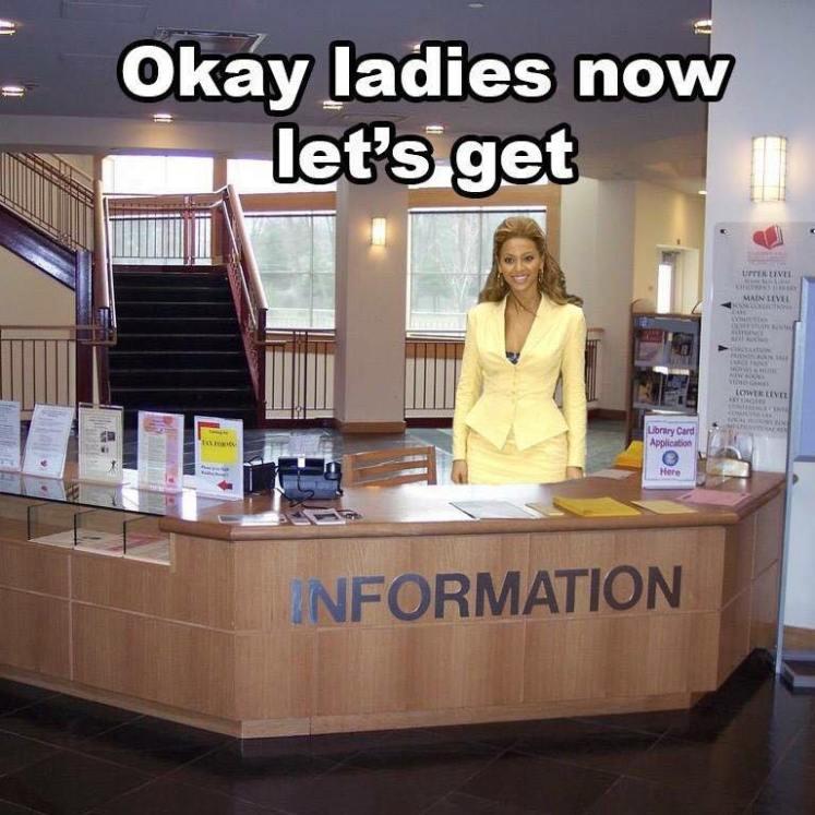 Okay ladies now let's get information - Loz@Net's Homepage