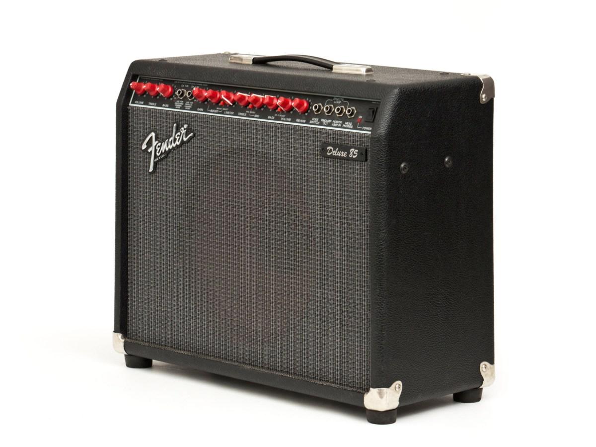 Fender Delux 85 Solid State Amplifier