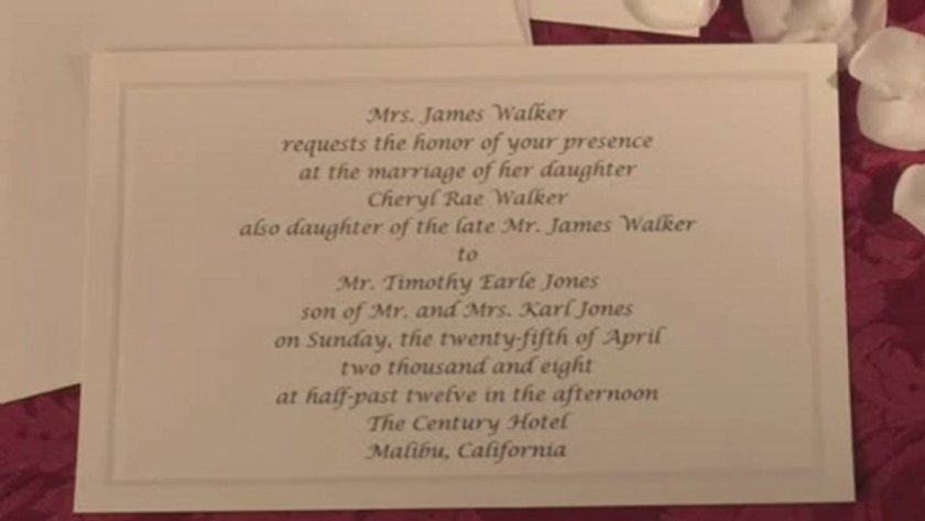 Wedding Invitation Wording Divorced Pas