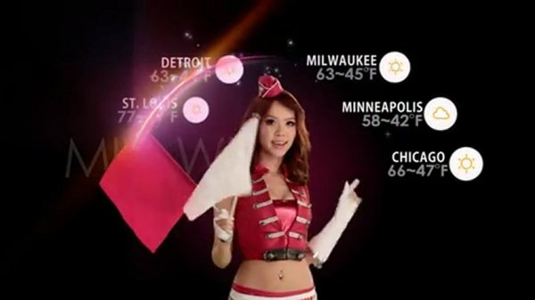 Taiwan Weather Girls October 17 2010 PopScreen