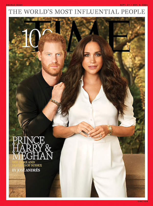 Members of the royal family on the covers of famous magazines: Meghan and Time