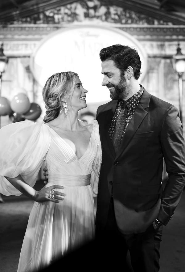 Emily Blunt and John Krasinski: a love story