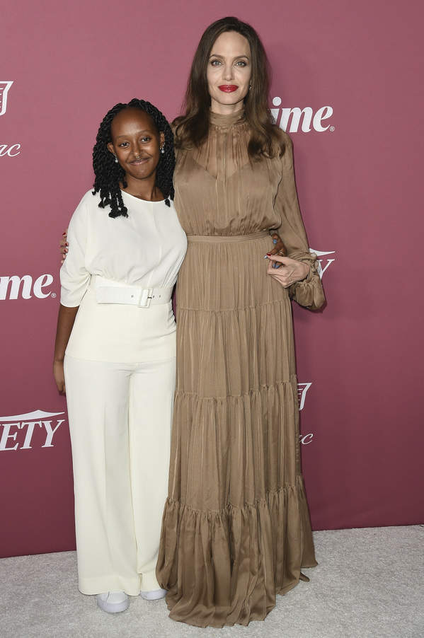 What does Zahara, Angelina Jolie's daughter look like?