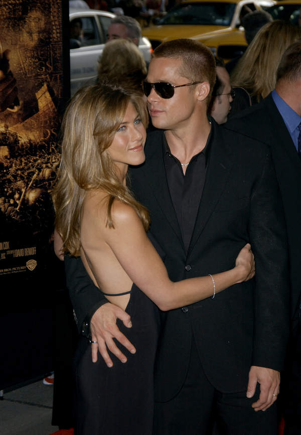 Jennifer Aniston, Brad Pitt, 2004