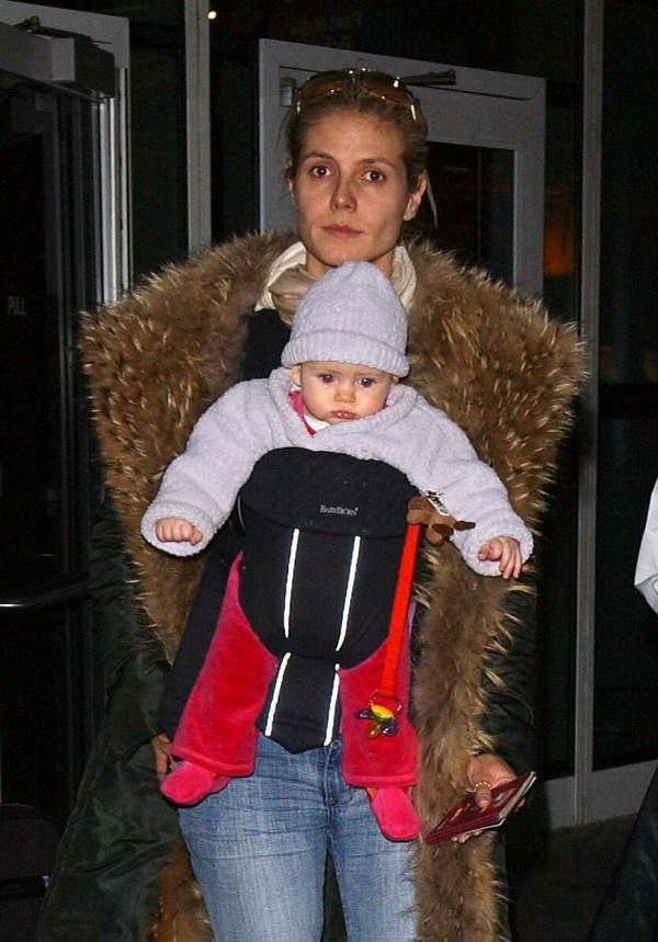 Heidi Klum, daughter of Heidi Klum, Leni, Leni Briatore, 2004