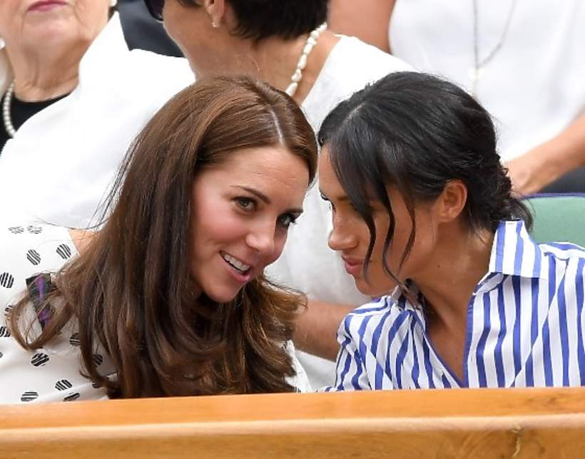 Kate Middleton, Meghan Markle, London 2018