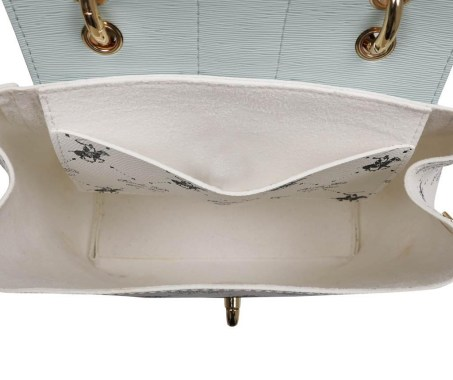 Geanta Exclusive White & Turquoise