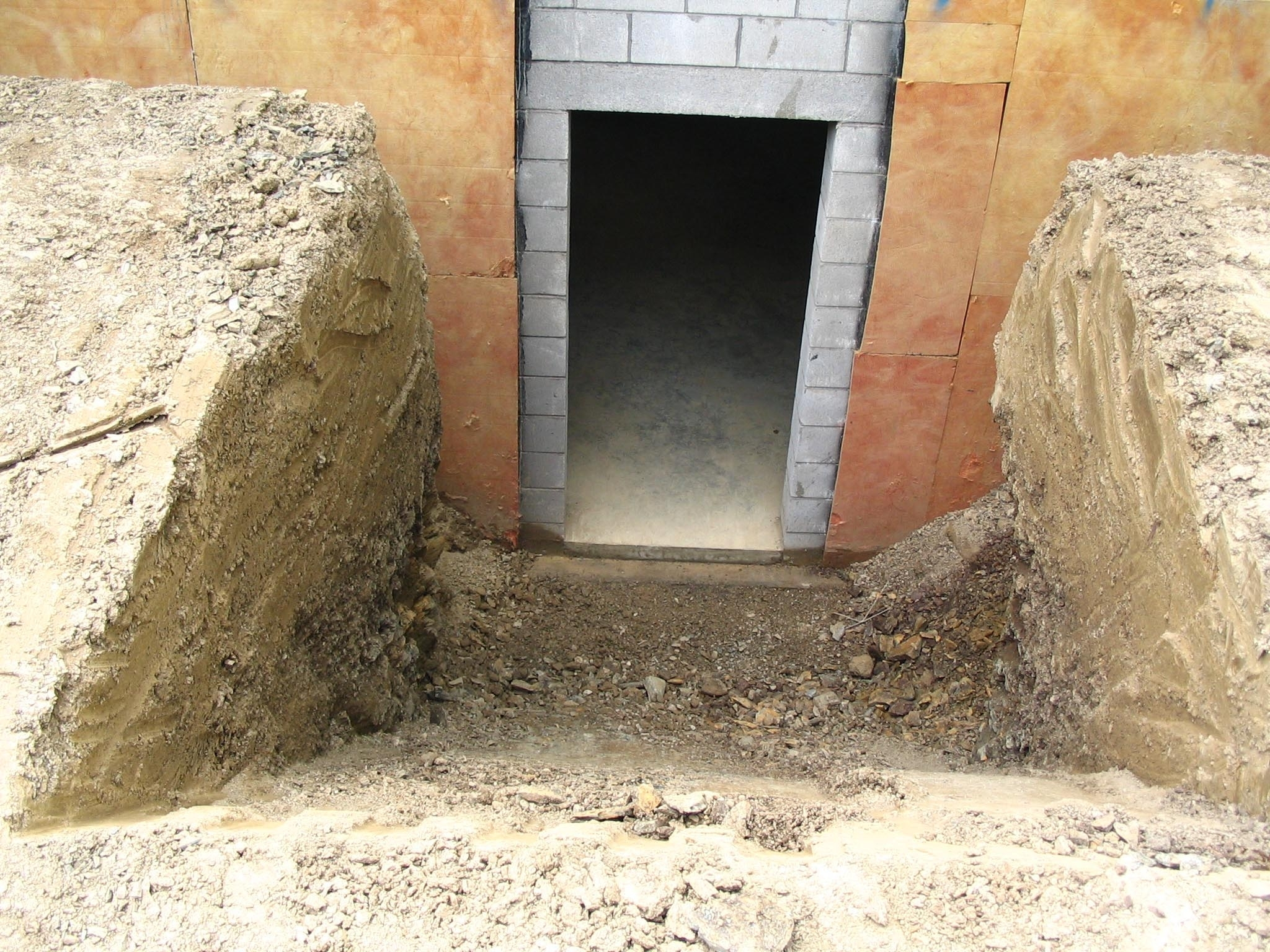 Precast Outside Basement Stairs • Basement | Outside Stairs To Basement | Walkout | Too Steep | Residential | Both Side | Side Entrance