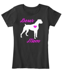 Boxer Mom - Cute Mother's Day T-shirt
