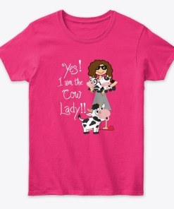 Cow Lover Gift Yes I Am The Cow Lady