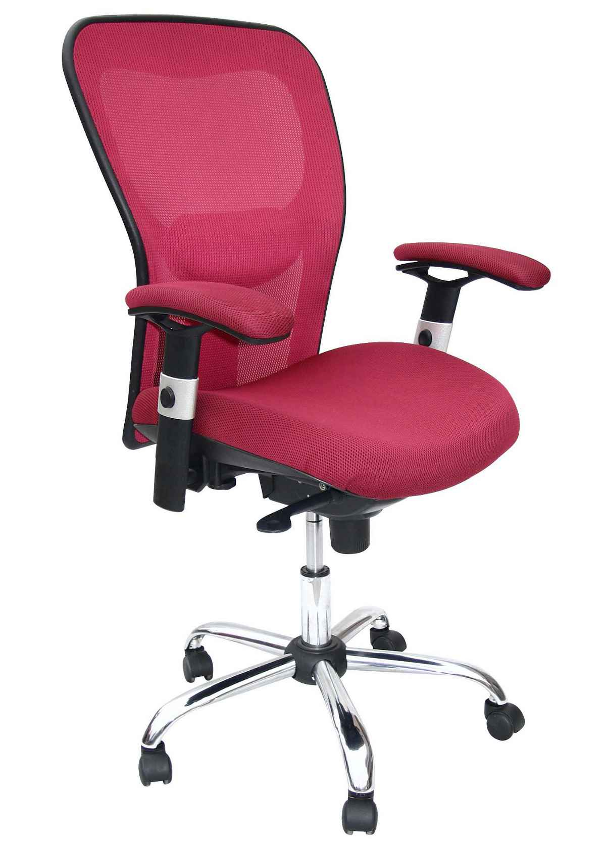 Pink Office Chairs Pink Office Chair With Adjustable Arms Office Chairs