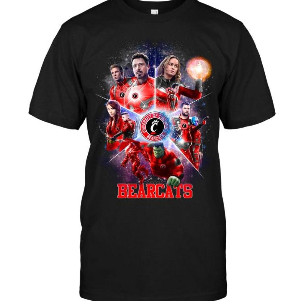 Avengers Endgame Cincinnati Bearcats Shirt