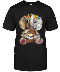 Elephant Loves Pittsburgh Steelers Shirt