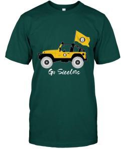 Go Pittsburgh Steelers Jeep Shirt