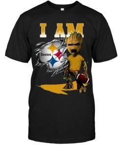 I Am Pittsburgh Steelers Groot Shirt