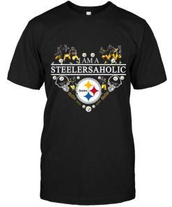 I'm A Steelersaholic Pittsburgh Steelers Shirt