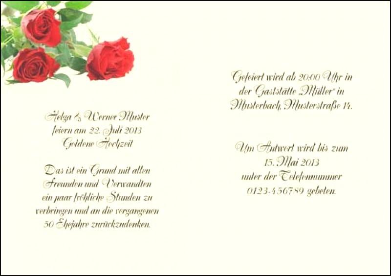 Goldene Hochzeit Karte Spruch Groartig Trauringe Schmal