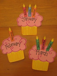 95+ Birthday Chart For Kindergarten - 9 Simple Birthday ...