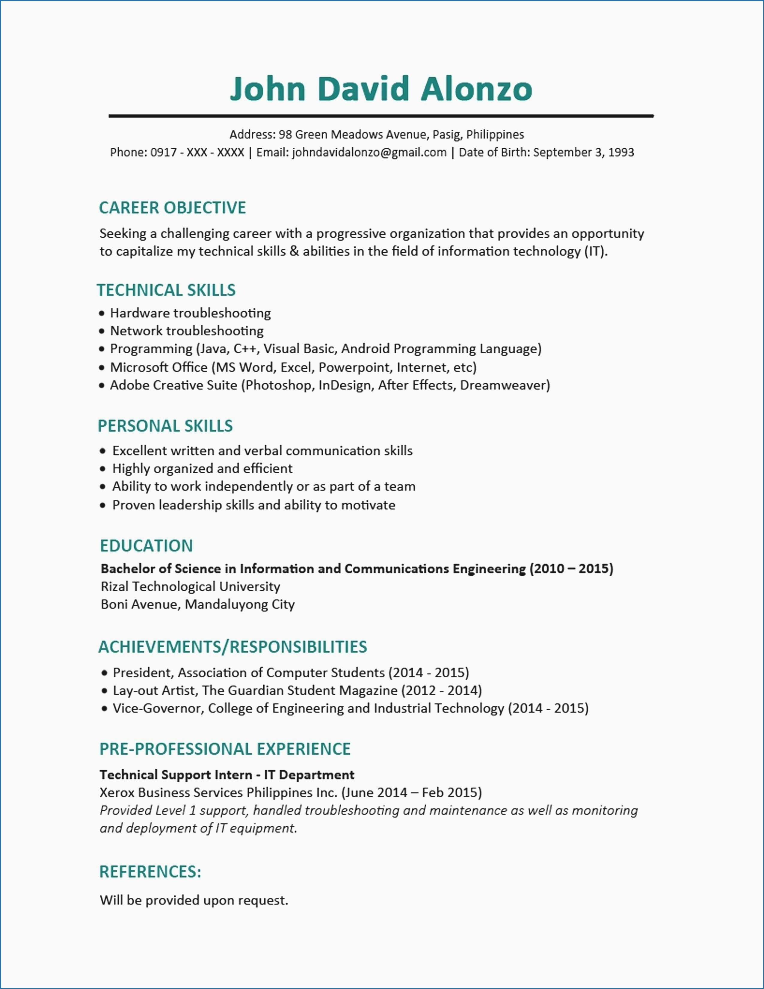 Examples Of A Chronological Resume Collage Work Activity Great Chronological Resume Sample Elegant