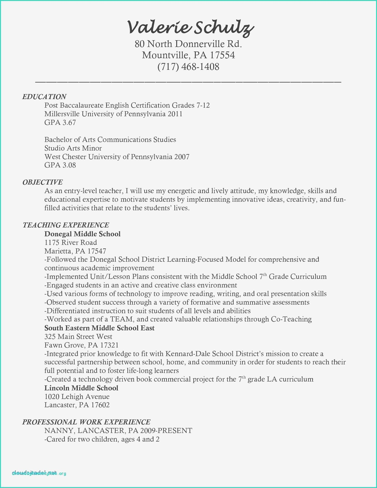 98 Teacher Assistant Resume No Experience Teaching