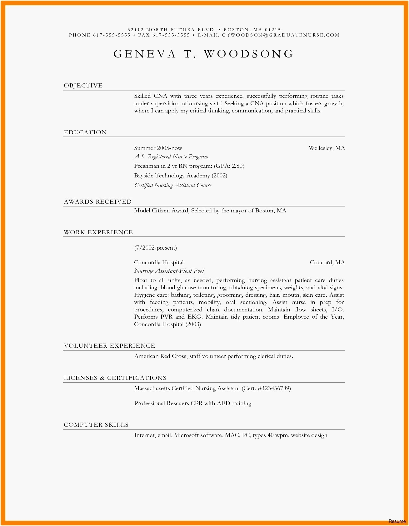 Latest Format For Resume Cv Format Latest 2018