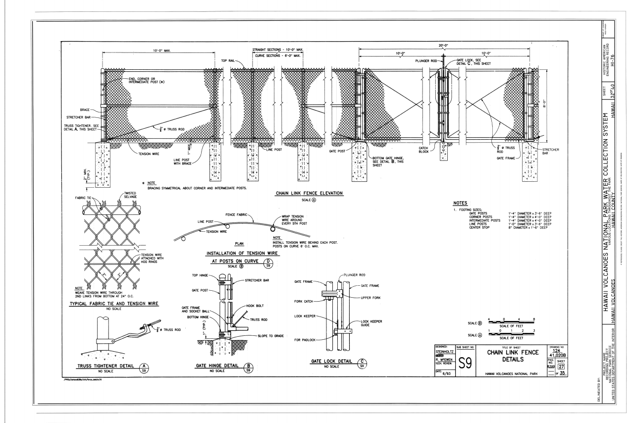 Chain Link Fence Drawings Cad Fences Design