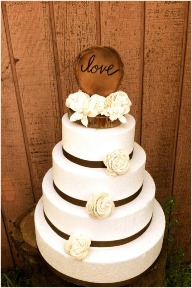 Cute And Chic Rustic Wedding Cake Toppers Weddbook