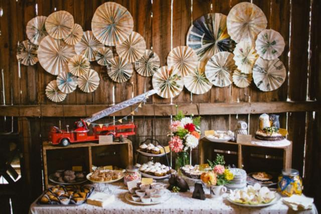 Reality Check Rustic Chic Dessert Table  Weddbook