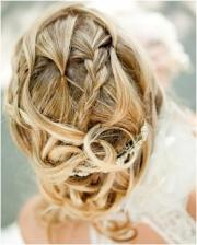 romantic bun wedding hairstyles