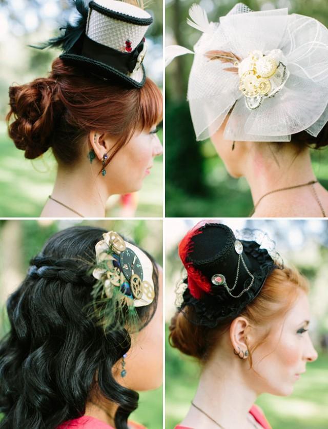 VictorianSteampunk Inspired Wedding Niki  Leo  Weddbook