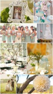 shabby wedding - & chic
