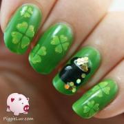 green wedding - cute nails #2051442