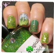 green wedding - cute nails #2052059