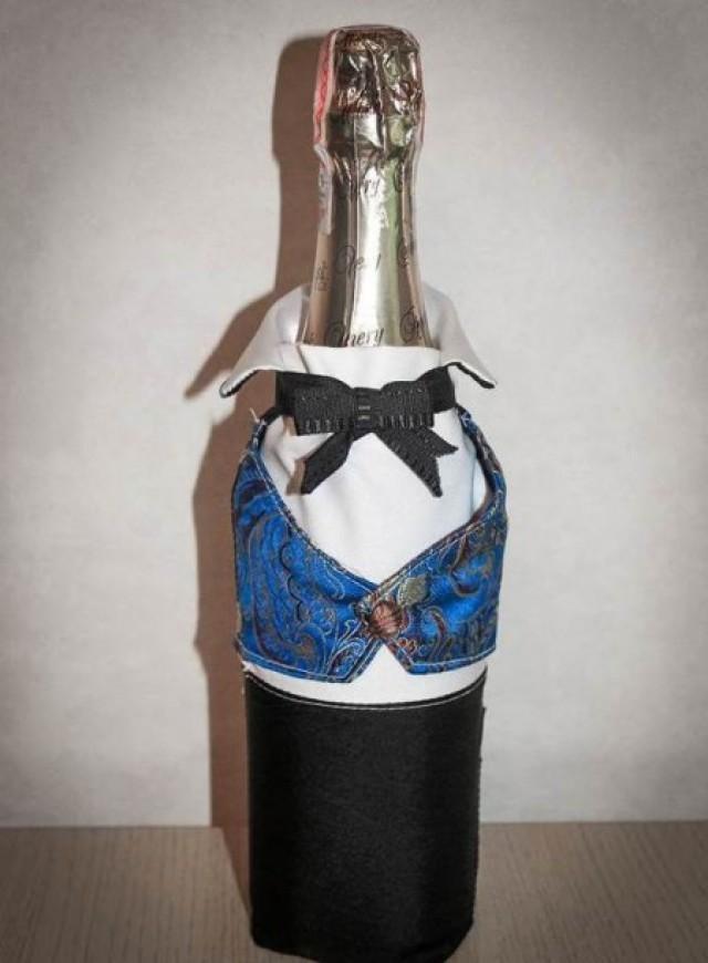 Botellas De Champagne Decoradas Hechas Por Ti  Weddbook