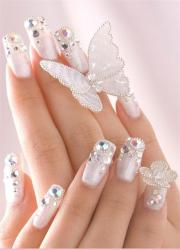 nail - wedding bling nails #2054017