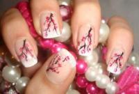 Oriental Wedding - Cherry Blossom Nails #2057455 - Weddbook