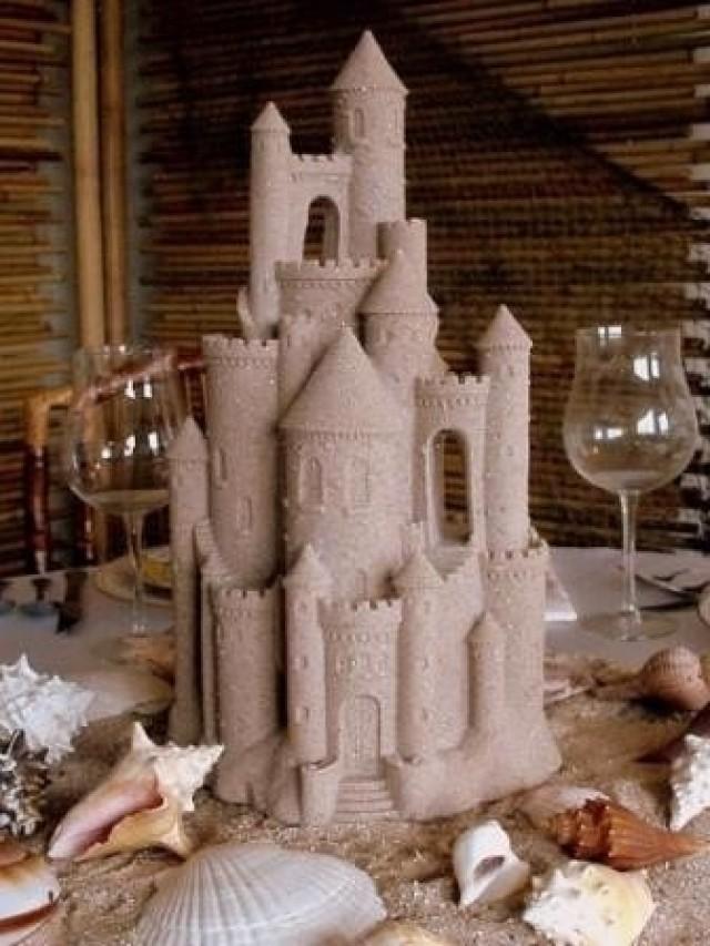 Wedding Theme Sand Castle Centerpiece 2058633 Weddbook