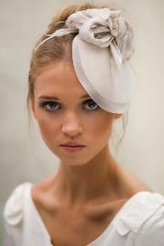 wedding hairstyles - hats