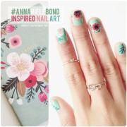 green wedding - cute nails #2077141