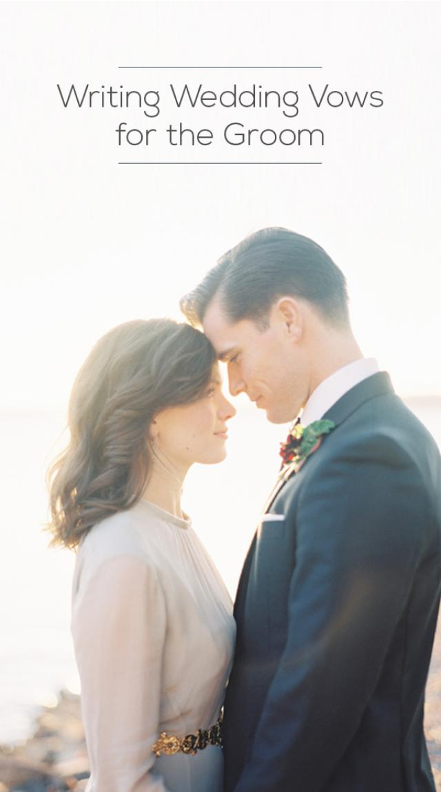 Writing Wedding Vows For The Groom  Weddbook